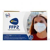 THD Mascherina Protettiva FFP2 5 Strati 5 Pezzi