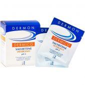 Dermon Dermico Salviettine Detergenti da Viaggio 10 Pezzi