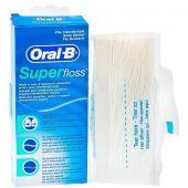 Oral-B Superfloss Filo Interdentale Denti Protesi 50Fili
