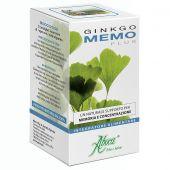 Aboca Ginkgomemo Plus Memoria e Concentrazione Integratore 50 Opercoli