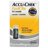 Accu-Chek FastClix Lancette Pungidito 24 Pezzi -es