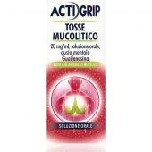 Actigrip Tosse Mucolitico Sciroppo 150ml
