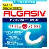 Algasiv Adesivo Protesi Inferiore 15 Pezzi