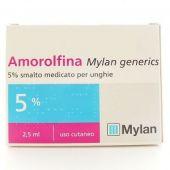 Amorolfina Mylan Smalto per Unghie 2,5ml 5%