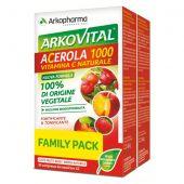 Arkovital Acerola 1000 Arkopharma 60 Compresse Masticabili