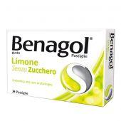 Benagol Limone Senza Zucchero 36 Pastiglie