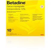 Betadine 10 Garze Impregnate 10X10