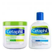 Cetaphil Crema Idratante 450g + Omaggio Emulsione Detergente 250ml