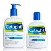 Cetaphil Emulsione Detergente Delicato 470ml + Omaggio Ricarica da 250ml