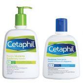 Cetaphil Fluido Idratante 470ml + OmaggioEmulsione Detergente 250ml