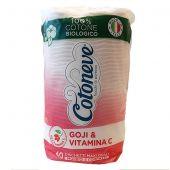 Cotoneve Dischetti di Cotone 100% Biologico 40 Pezzi