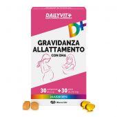 Massigen Dailyvit+ Gravidanza Allattamento Mamma 30 Perle + 30 Capsule