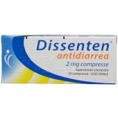Dissenten Antidiarrea 2mg 10 Compresse