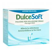 Dulcosoft Polvere Macrogol 4000 Stitichezza 20 Bustine