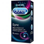 Durex Sync Massimo Piacere Reciproco 12 Profilattici