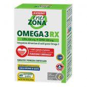 Enerzona Omega 3RX Integratore 60 Mini Capsule