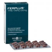 FerPlus Tre-Tard 30mg Integratore di Ferro Bios Line 60 Capsule