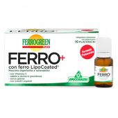 Ferrogreen Plus Ferro+ Specchiasol 10 Flaconcini