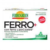 Ferrogreen Plus Ferro+ Specchiasol 30 Compresse