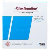 Fitostimoline 15% 10 Garze Impregnate 10x10cm
