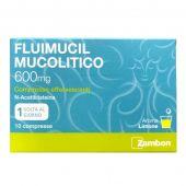 Fluimucil Mucolitico 600mg Limone 10 Compresse Effervescenti