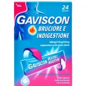 Gaviscon Bruciore e Indigestione 24 Bustine