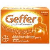 Geffer Granulato Effervescente Gusto Arancia 24 Bustine