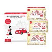 Gold Collagen Forte Integratore Antiage 30 Flaconcini