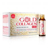 Gold Collagen Forte Integratore Antiage 10 Flaconcini