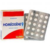 Homeogene 9 Mal di Gola e Raucedine 60 Compresse