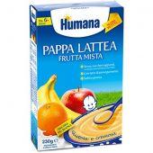 Humana Pappa Lattea Alla Frutta Mista 4+ Mesi 230g