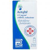 Ketoftil 0,5mg/ml Collirio 10ml