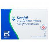 Ketoftil Collirio 0,5mg/ml 25 Contenitori Monodose da 0,5ml