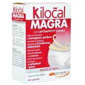 Kilocal Magra Sovrappeso e Gonfiore 60 Capsule