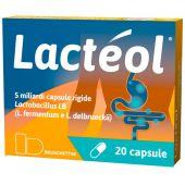 Lacteol 5 Miliardi Lactobacillus 20 Capsule