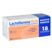 Lactoflorene Plus Fermenti Lattici Vivi Adulti 18 Flaconcini 10ml