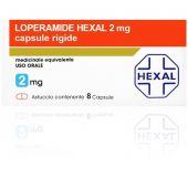 Loperamide Hexal 2mg 8 Capsule