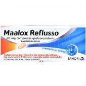 Maalox Reflusso 7 Compresse 20mg