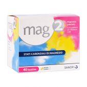 Mag 2 Polvere per Soluzione Orale 40 Bustine 2,25g