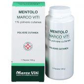 Mentolo Marco Viti 1% Polvere Cutanea 100g