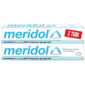 Meridol Dentifricio Per Gengive Irritate Pacco Doppio 75ml+75ml
