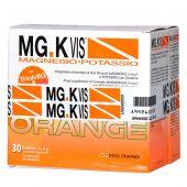 MG.K Vis Magnesio Potassio Orange Zero Zuccheri 30 Buste + Omaggio 15 Buste