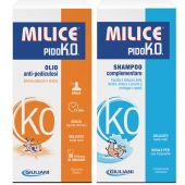 Milice PidoK.O. Kit Anti-pidocchi Olio Shampoo Pettine Promo