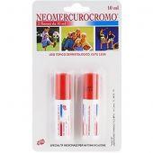 Neomercurocromo Soluzione Cutanea 2 Flaconi da 10ml