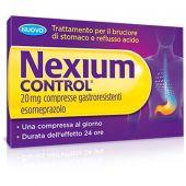 Nexium Control 20mg 7 Compresse Gastroresistenti