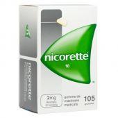 Nicorette 2 mg Gomme Masticabili 105 Pezzi
