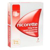 Nicorette 7 Cerotti Transdermici 15mg/16H