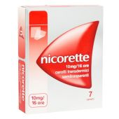 Nicorette 7 Cerotti Transdermici 10mg/16H
