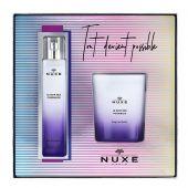 Nuxe Cofanetto Eau De Parfum Le Soir Des Possibles 50ml con Candela
