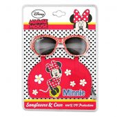 Occhiali da sole bambina Minnie Mouse con custodia 5+